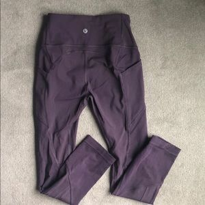 lululemon athletica Pants - 🚫🚫 sold lululemon purple high waisted leggings